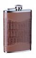 Фляга S.Quire D-Pro коричневый цвет кожа с рисунком