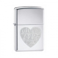 Зажигалка Zippo For The Love Of Chrome
