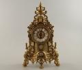 Часы каминные из бронзы кварцевые Италия