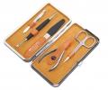 Маникюрный набор Dewal 5 предметов оранжевый