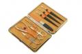 Маникюрный набор Dewal 8 предметов гладкая кожа