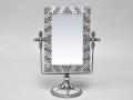 Зеркало настольное из стекла и олова прямоугольное