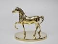 Статуэтка лошадь из латуни