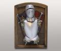 Ключница настенная рыцарская с мечами и доспехами