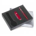 Набор нож и коробка для часов Wenger
