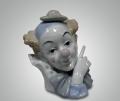 Статуэтка Голова клоуна в шляпке