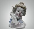 Статуэтка Голова клоуна в тюбитейке