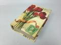 Шкатулка фолиант тюльпаны