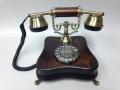 Телефон настольный дисковый в ретро стиле