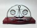 Настольный набор термометр часы и ручка