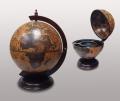 Настольный глобус бар Zoffoli темного цвета 42 см
