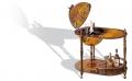 Глобус бар напольный на трех ножках 90 см