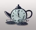 Часы настенные в виде чайника
