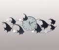 Часы настенные с рыбками