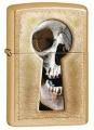 Зажигалка Zippo Keyhole Skul