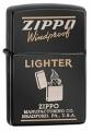 Зажигалка Zippo Classic с покрытием Ebony