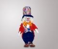 Клоун кукла в синих штанах