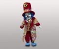 Клоун кукла в красной шляпе