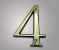 Цифра из латуни 4