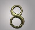 Цифра из латуни 8