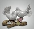 Статуэтка влюбленные голубки