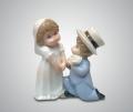 Статуэтка свадебная парочка