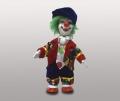 Кукла клоун в синей шапке