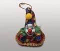 Клоун-подвеска в колпаке с желтым помпоном