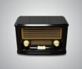 Радио в старинном стиле