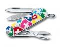 Нож-брелок Victorinox Classic VX Colors