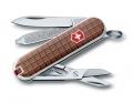 Нож-брелок Victorinox Classic дизайн шоколад
