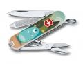 Нож-брелок Victorinox Classic Snack Time