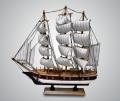 Модель парусника белые паруса