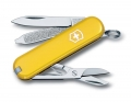 Нож-брелок Victorinox Classic SD 7 функций желтый