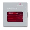 Набор Victorinox SwissCard Classic красный