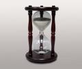Часы песочные в дереве 30 минут