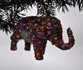 Фигурка из полистоуна слоник
