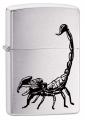 Зажигалка Zippo 200 Scorpion черный скорпион