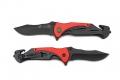 Нож складной Stinger черно-красный