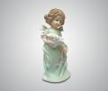 Статуэтка Ангелочек с цветами