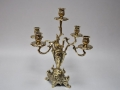 Подсвечник из латуни на 5 свечей