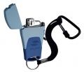 Газовая зажигалка Stinger сине-голубая Mira