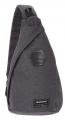 Рюкзак Wenger серый на одно плечо