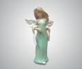 Статуэтка Ангелочек в зеленом платье