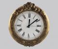Часы настенные из латуни