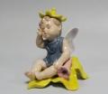 Статуэтка Эльф на желтом цветке