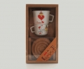 Набор подарочный чайный с кружками Nuova Сer