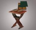 Стол для шахмат карт и нард без фигурок